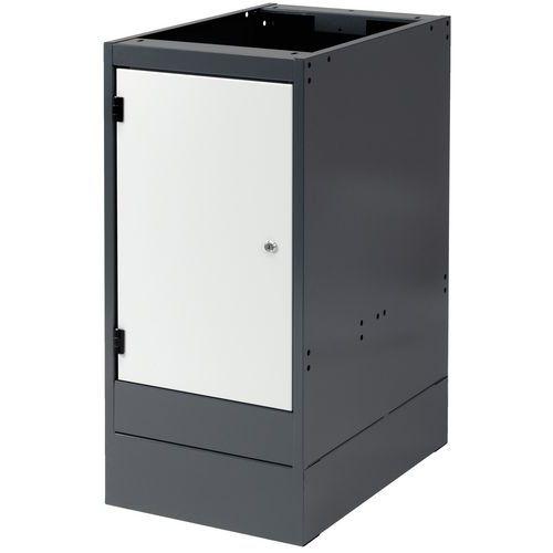 Bloco de gavetas - Porta integral