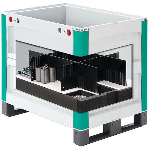 Divisória para caixa na palete SL86