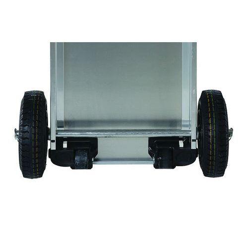 Roda para caixa com rodízios K424 XC