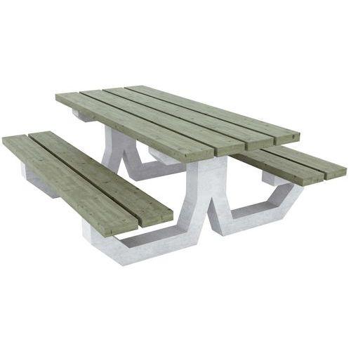 Mesa de piquenique – Oléron