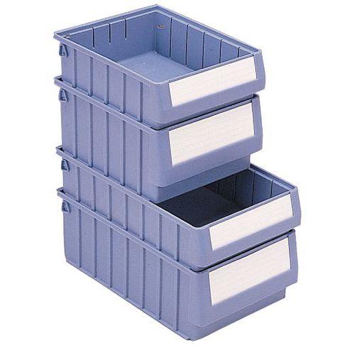 Protege-etiquetas para caixa-gaveta da série RK – conjunto de 50