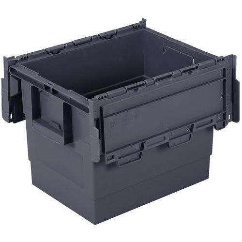 Caixa de transporte Integra® - Comprimento 600mm - Cinzenta
