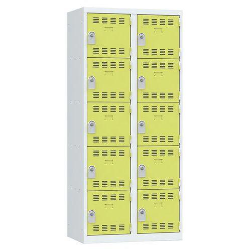 Cacifo multicompartimentos – 2 colunas – 5 compartimentos – 400mm de largura