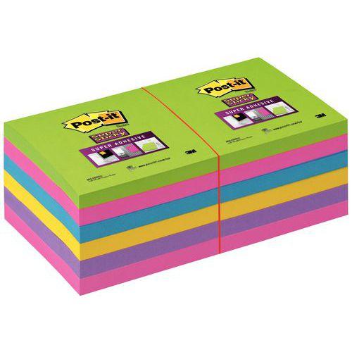 Post-it® Super Sticky Sortidos