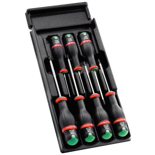 Composição 12 módulos de ferramentas Facom - 129 ferramentas