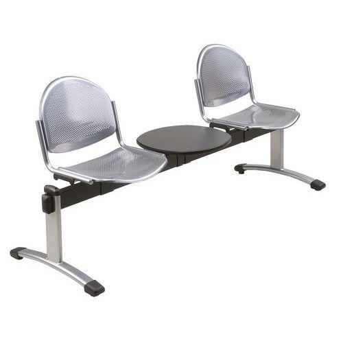 Banco para sala de espera Oker – 2 assentos