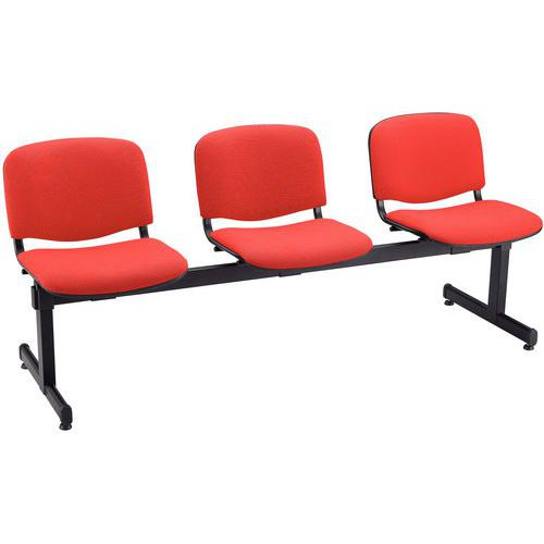 Banco para sala de espera Agora – 3 assentos