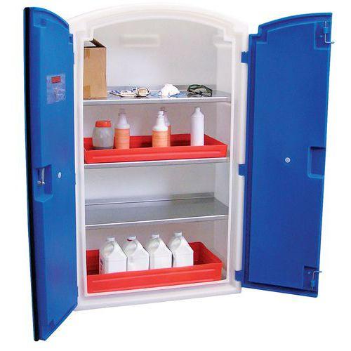 Armário de segurança para produtos corrosivos - Modelo alto