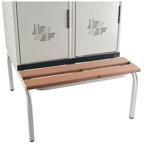 Base-banco de vestiário Seamline® - Indústria suja