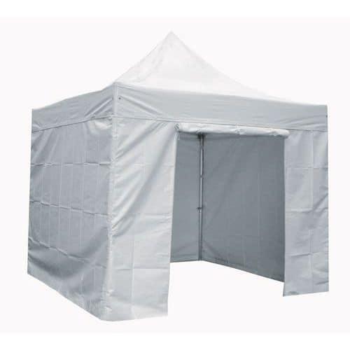 Cobertura para tendas alumínio - Parede com porta