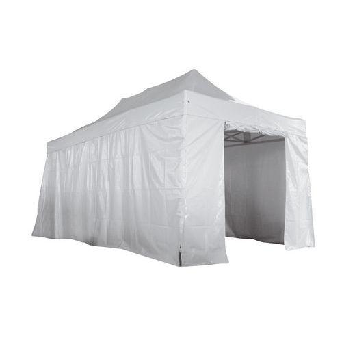 Cobertura para tendas alumínio - Lateral integral