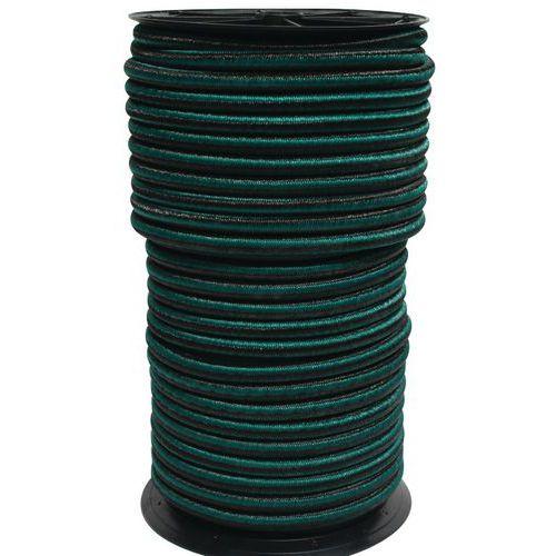 Rolo de elástico – verde-escuro
