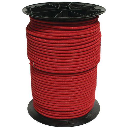 Rolo de elástico – vermelho