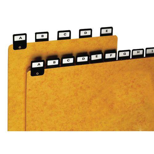 Separador com pestana - Indexação em largura