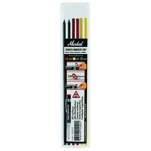 Recargas para marcador de ponta telescópica – Trades-Marker® Dry