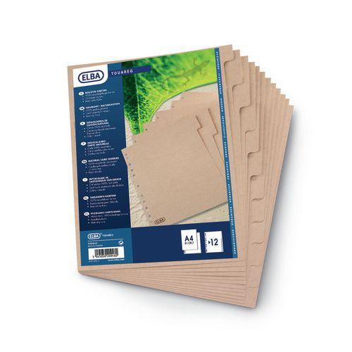 Separador cartão ecológico