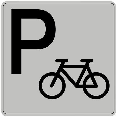 Pictograma em poliestireno ISO 7001 – Suporte para bicicletas