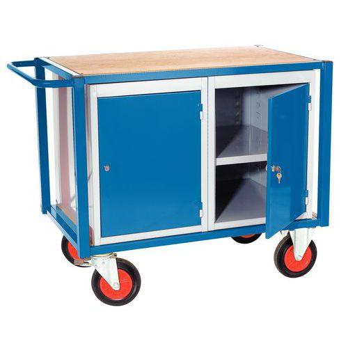 Carro 2 blocos de armário - -1 plataforma - Capacidade 500 kg