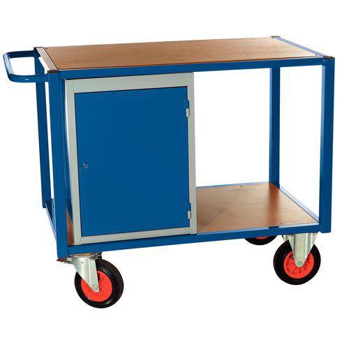 Carro 1 bloco de armário - 2 plataformas - Capacidade 500 kg