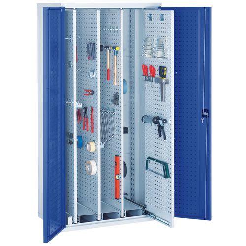 Armário para ferramentas Bott Perfo com painéis extraíveis