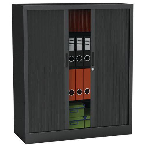 Armário com portas de persiana Premium unido - Altura 105 cm