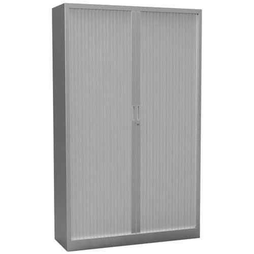 Armário com portas de persiana Premium unido - Altura 198 cm
