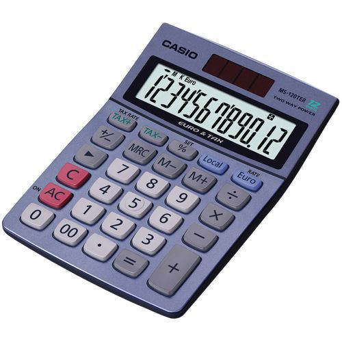 Calculadora Casio MS-120TER
