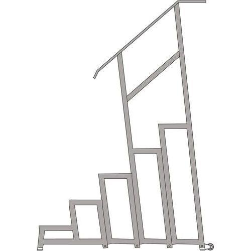 Rampa para escadote modular AMA – Tubesca