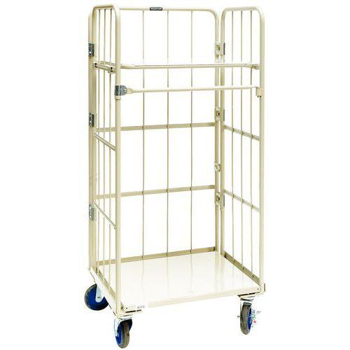 Contentor móvel encaixável - Capacidade 500 kg