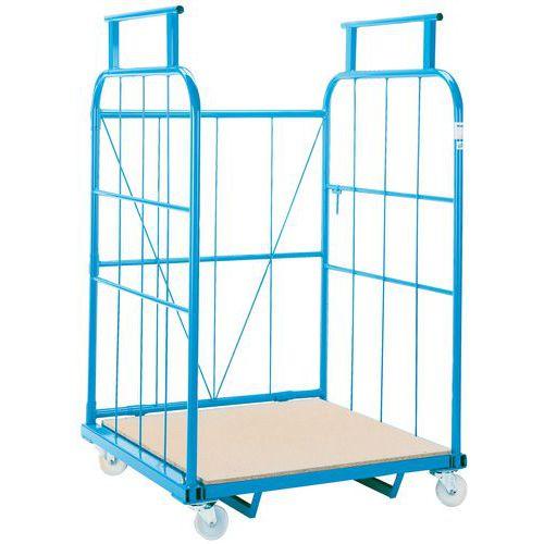 Contentor móvel encaixável - Capacidade 800 kg