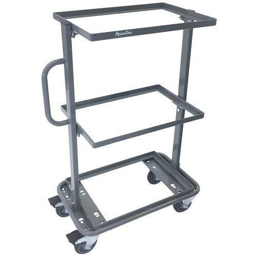 Carro de aço para caixas – Capacidade: 200kg – Manutan