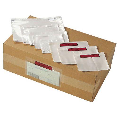 Envelope para guias de remessa - Packing list