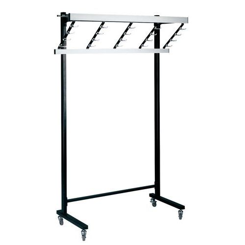 Porta-cabides – Comprimento 120m – 40 e 80 peças de roupa