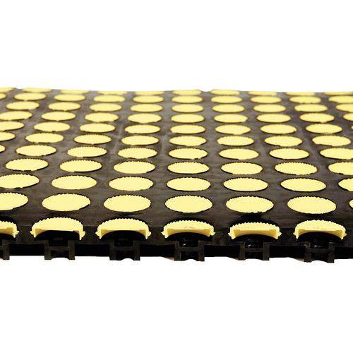 Placas antifadiga com almofada de ar - Nitrilo
