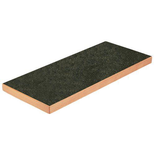 Bancada Cubio com prateleira fixa - Largura 200 cm - Arphenol