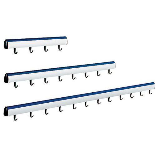 Bengaleiro de parede Allure, modelo 1 - Azul