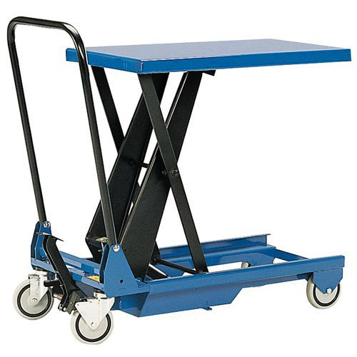 Minimesa elevatória móvel – Capacidade de 150kg
