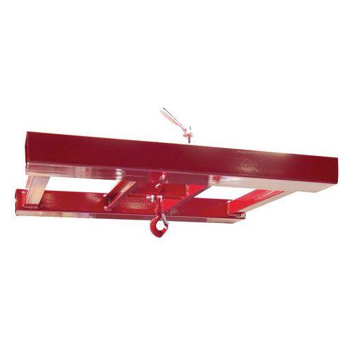 Manga dupla para pinça de bidões – Capacidade de carga: 600kg