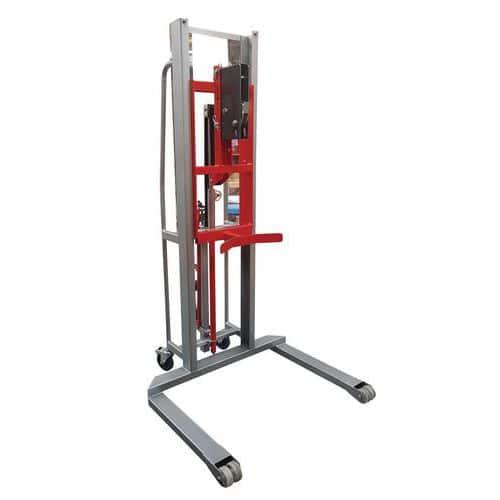 Elevador para bidões de metal e de plástico – capacidade de carga de 300kg