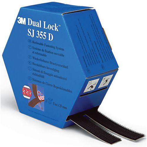 Fita de fecho de gancho e laço auto-adesiva Dual Lock™ - SJ355D - 3M