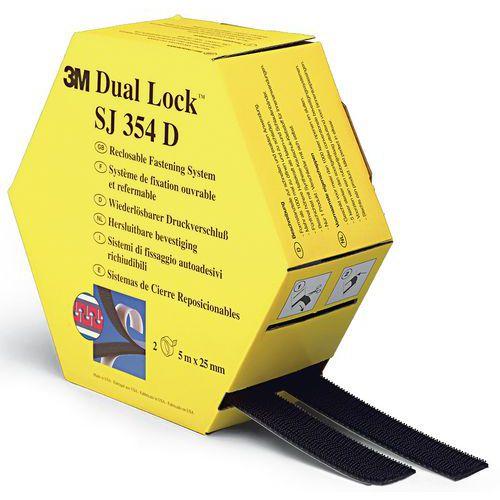 Fita de fecho de gancho e laço auto-adesiva Dual Lock™ - SJ354D - 3M