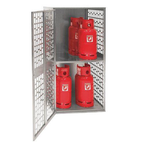 Contentor para botijas de gás