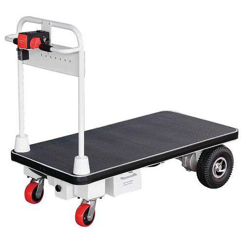 Carro elétrico com espaldar fixo – capacidade de 500kg