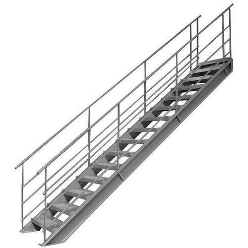 Escada de 38° para plataforma de armazenamento