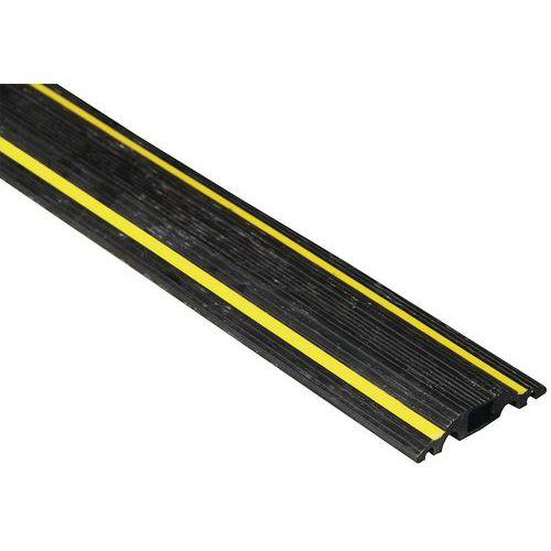 Passagem de cabos com 3m de comprimento – Preto/amarelo - Manutan