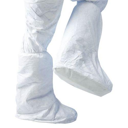 Cobre-botas descartáveis antiderrapantes Tyvek@ 500