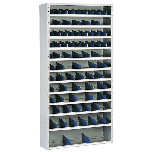 Armário com compartimentos – 40 cm de profundidade – Manutan