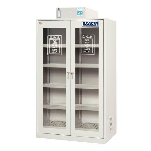 Armário de segurança com filtração molecular - 250 L