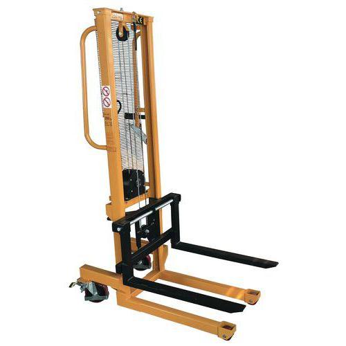 Empilhador manual – Capacidade: 250 kg