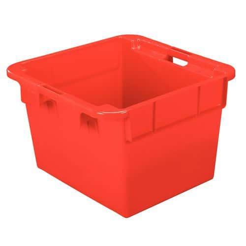 Caixa empilhável de grande formato - Unicolor - Comprimento: 620 a 800 mm - 60 a 145 L